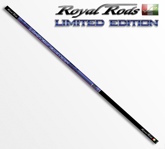Удилище LIMITED EDITION Pole 5m 163гр Royal Rods